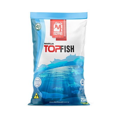 RAÇÃO TOP FISH 22% 12 A 14mm