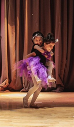 Dance students at a pre-pandemic Showcase