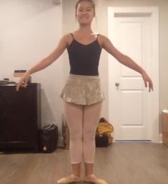 Teacher Coco's ballet performance