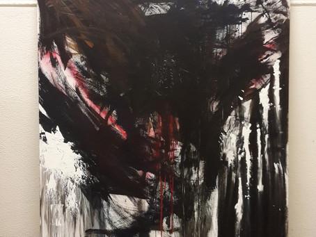 Schilderij - Outsider