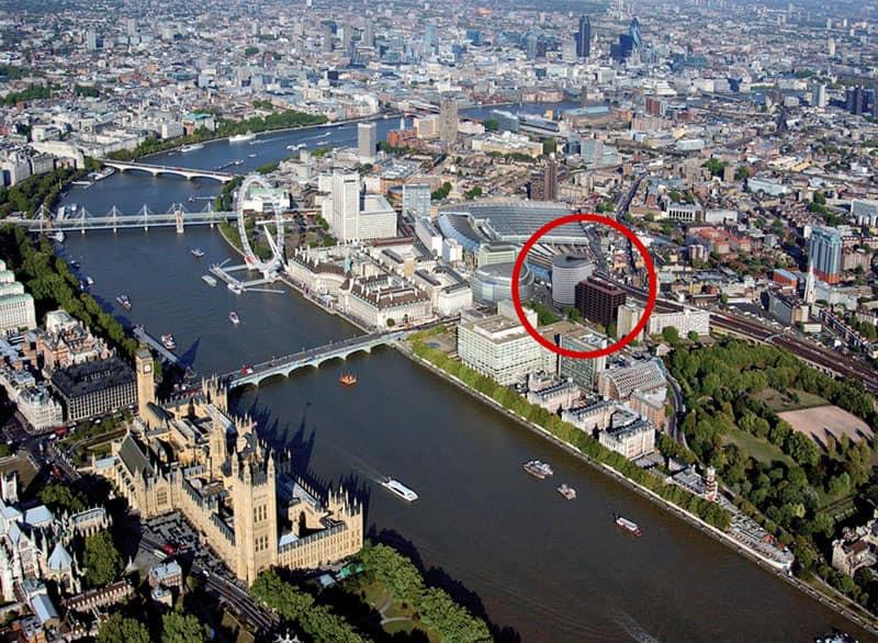 矗立在倫敦市中心的DLD College London