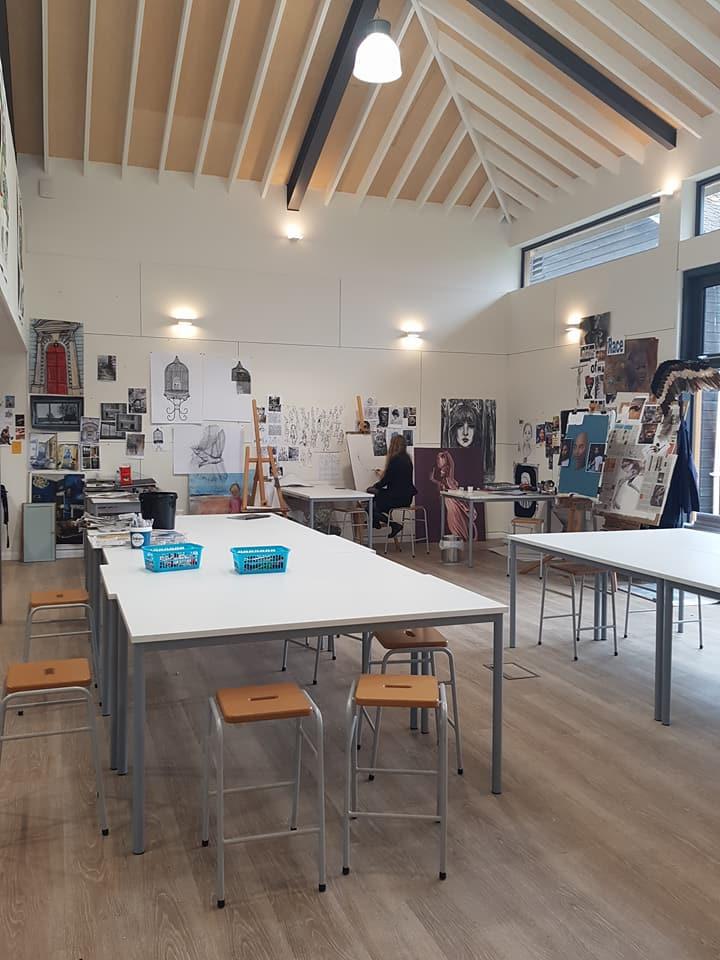 剛去年新建開啟的Silvermead Art Studio