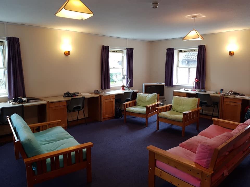 學生宿舍內的Prep Room (温習室)