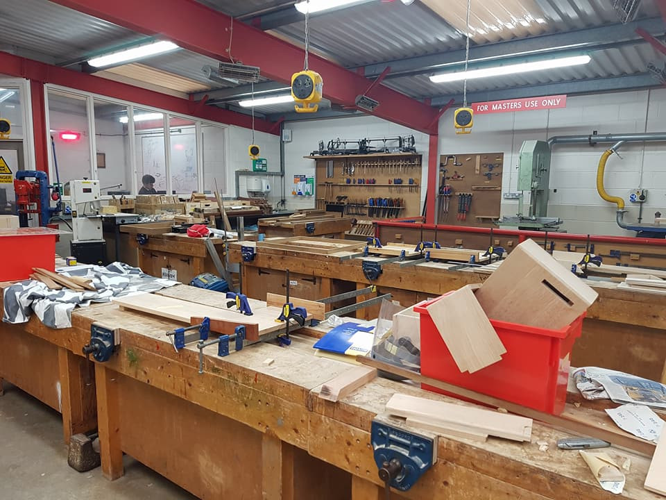 DT課室的木工部