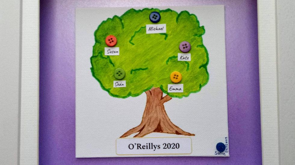 Button Family Tree