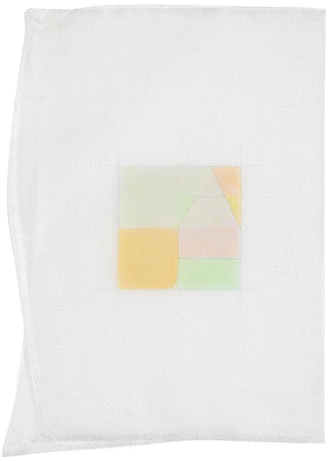 Sans titre, acrylique sur tissu de soie, 15x21cm, 2014