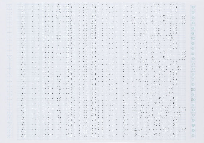 Alphabet texte 02, crayon sur papier, 42x59.5cm, 2014