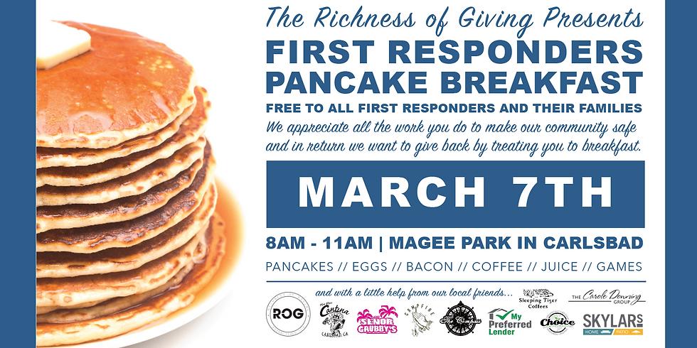 First Responders Pancake Breakfast