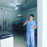 Surgical room before