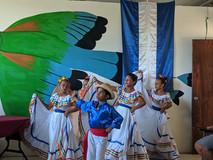 Dancers preform at graduation