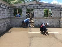 House in progress
