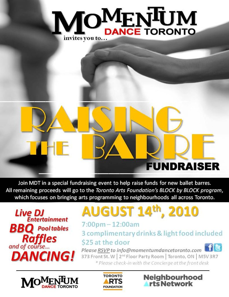 2010| Raising the Barre Fundraiser