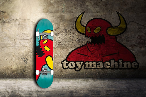 """Toy-Machine Vice Monster Mini Skateboard Complete 7.375"""""""