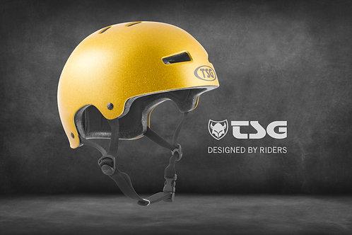 TSG Evolution Special Makeup Helm Herren goldie