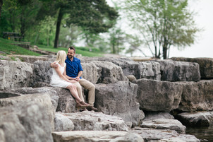 A Castle On The Hill - Vanessa & Ian Engagement Session