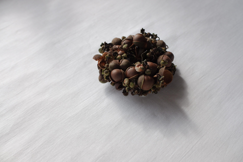 お茶の実リース B(s-0015)
