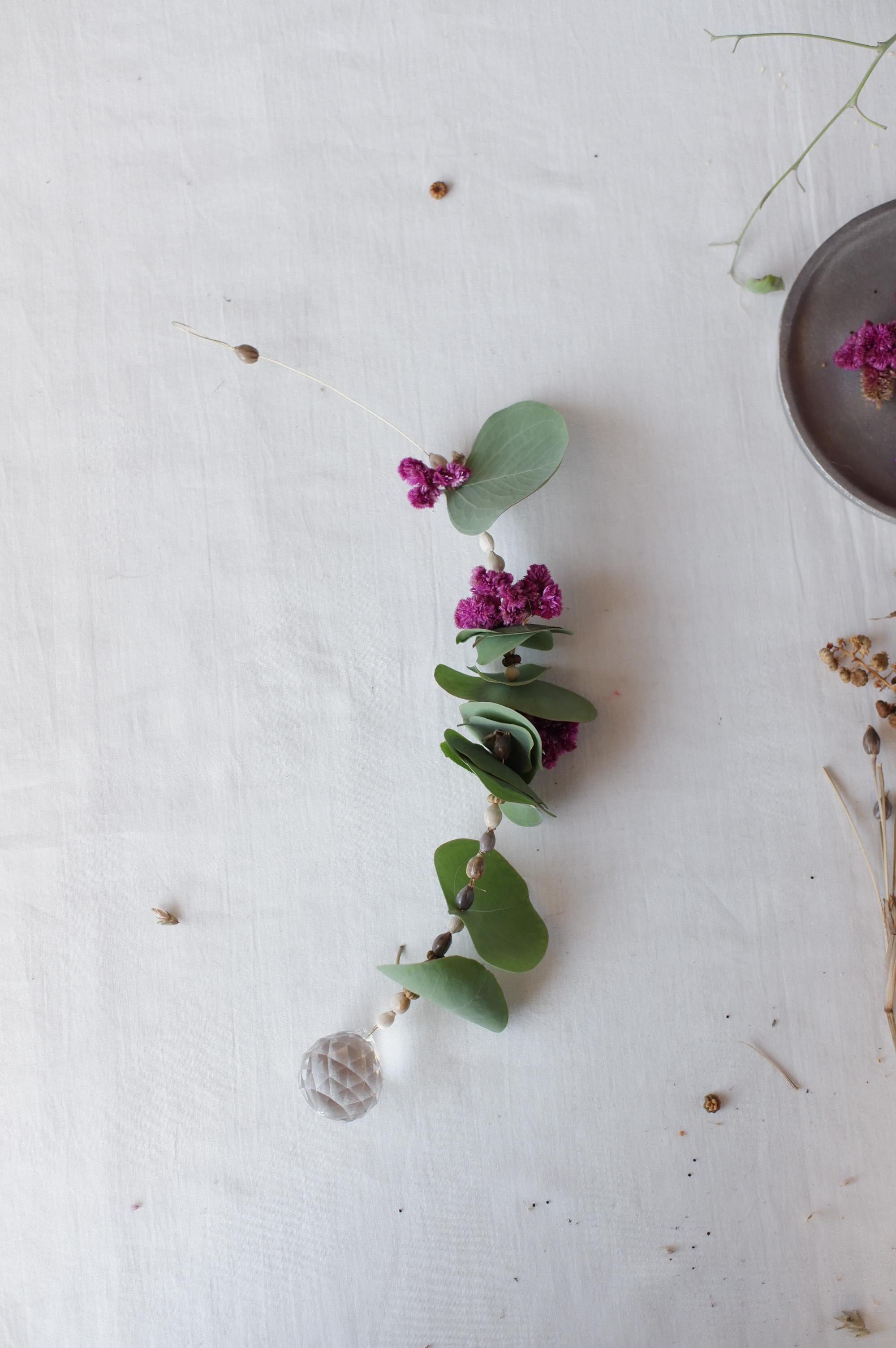 植物のサンキャッチャーキット