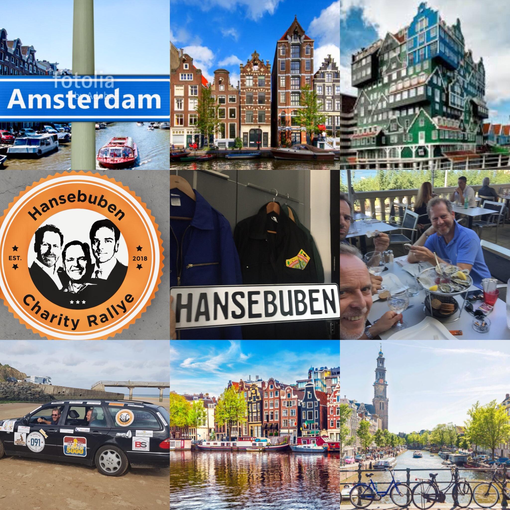 Wir sind in Amsterdam