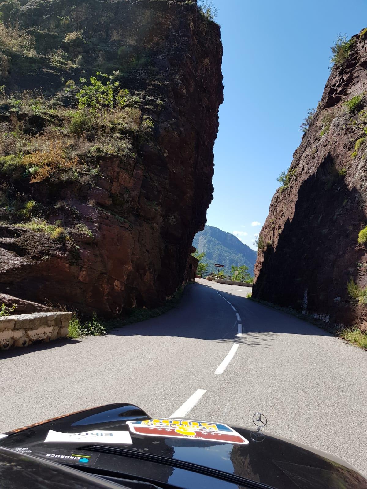 Felsstrukturen der Pyrenäen