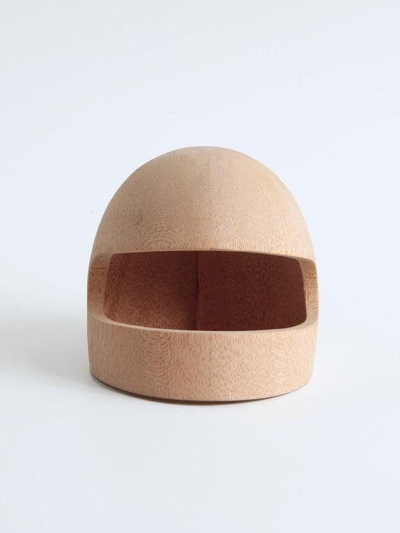 Wooden helmet 2