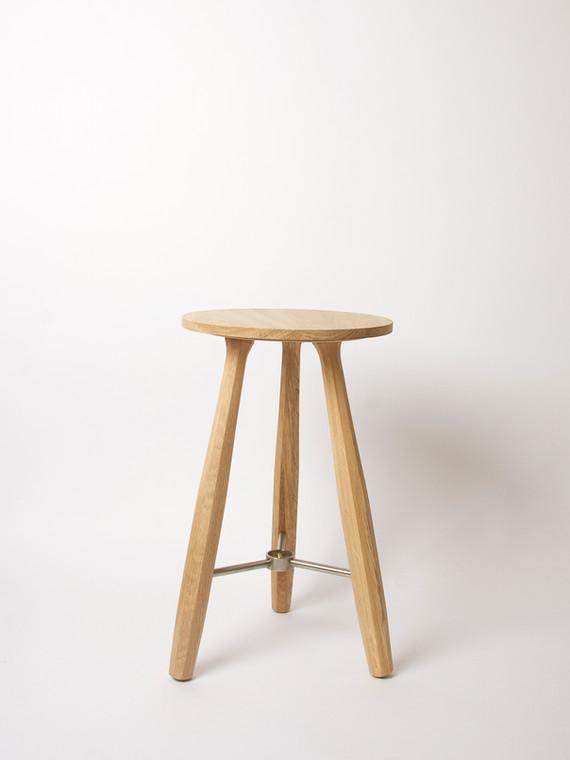 Stool, oak
