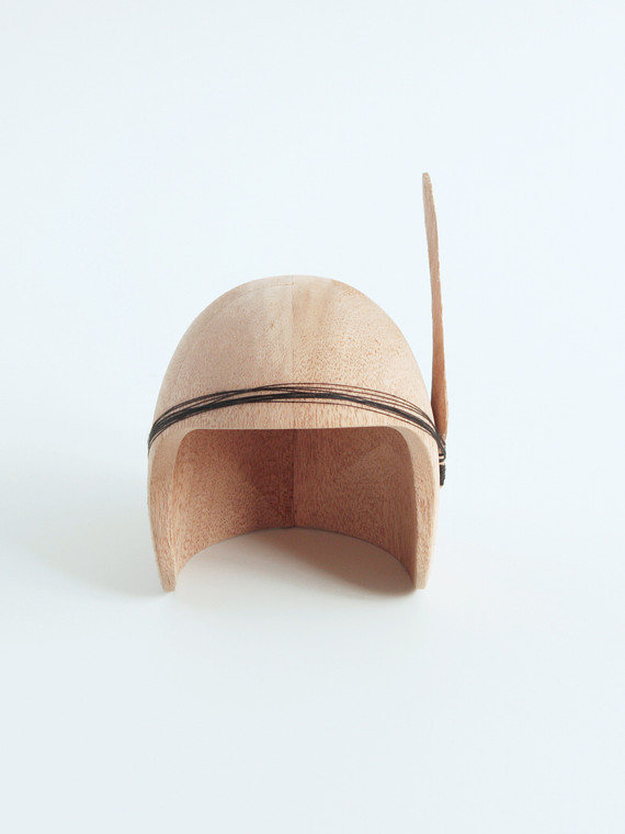 Wooden helmet 3
