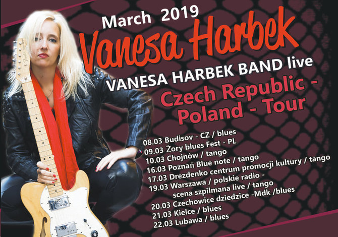 Vanesa Harbek - Czech Republic - Poland - Tour 2019