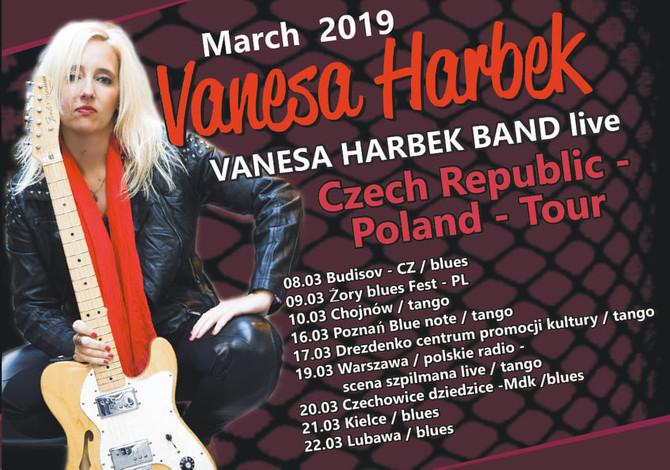 Vanesa Harbek - Czech Republic - Poland - Tour 2019