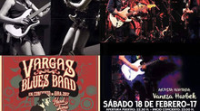 Vanesa Harbek invitada especial de Vargas Blues Band - Tour 2017