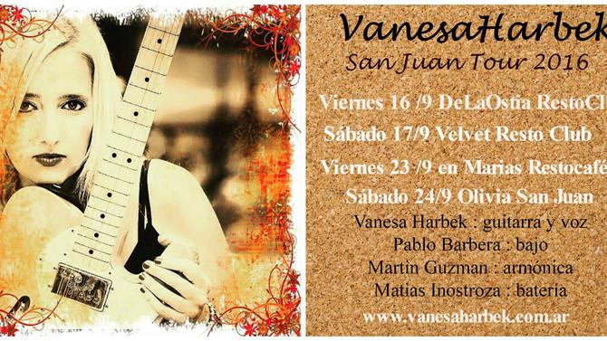 Vanesa Harbek - San Juan Tour