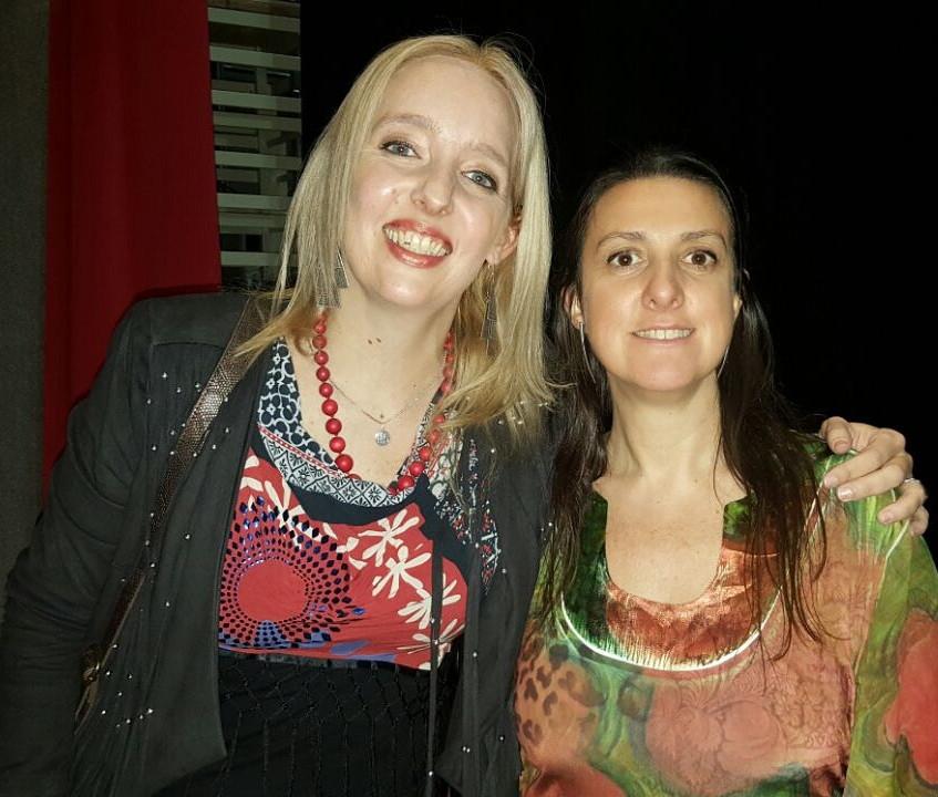 con Marina Calzado