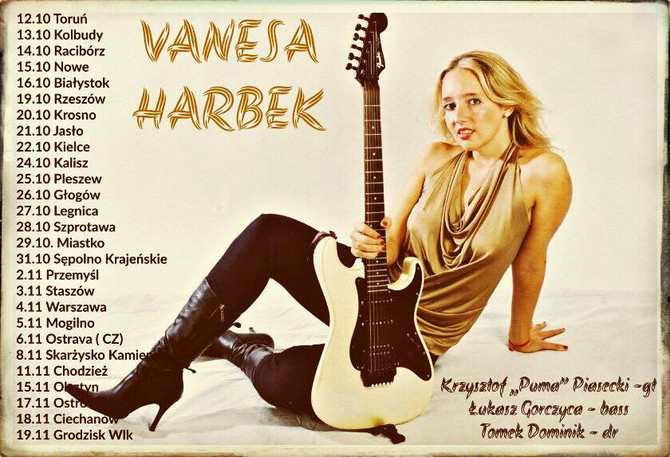 Vanesa Harbek - Poland Tour