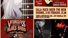 Vargas Blues Band + Vanesa Harbek en Santander - España
