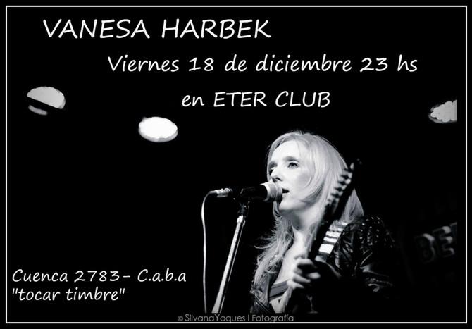 Vanesa Harbek en Eter Club