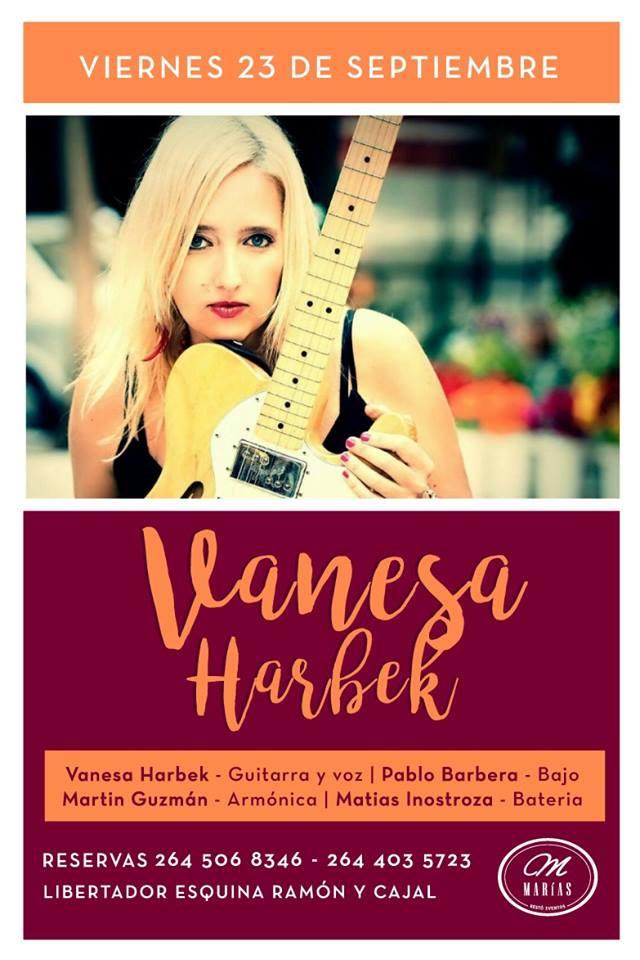 Vanesa Harbek en Prov de San Juan