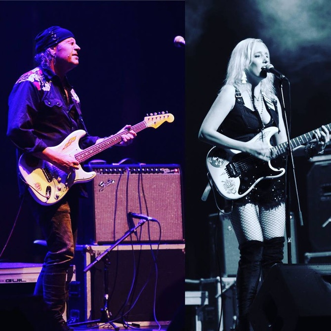 Vargas Blues Band + Vanesa Harbek German Tour Mai 2017