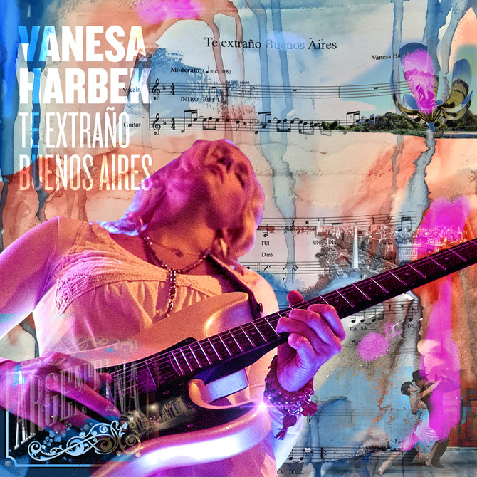 "Vanesa Harbek - New Single : ""Te extraño Buenos Aires"""