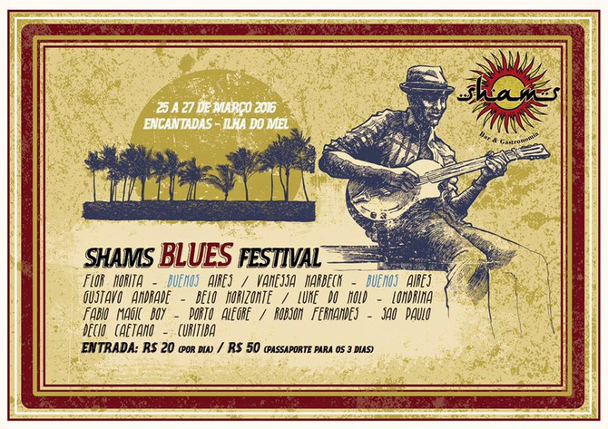25 al 27 de marzo Shams Blues Festival