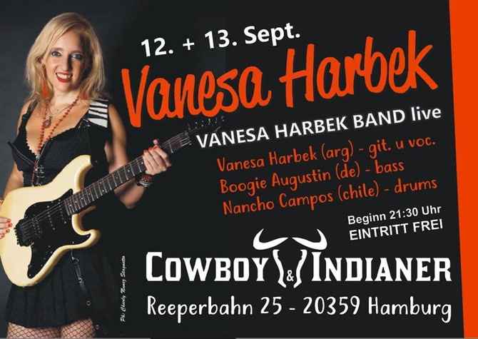 VANESA HARBEK IN HAMBURG