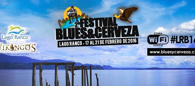 Vanesa Harbek en Festival de Blues en Chile - Lago Ranco