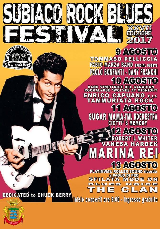 Subiaco Rock Blues FESTIVAL - Italy