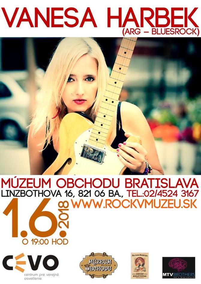 Vanesa Harbek in Bratislava