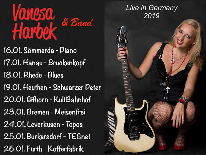 Vanesa Harbek - German Tour 2019
