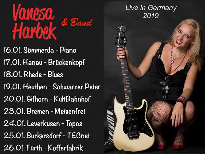 Vanesa Harbek - German Tour 2019