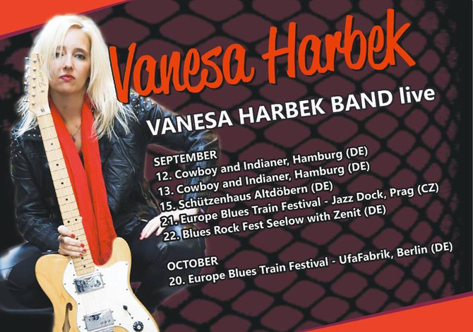 Vanesa Harbek - European Tour 2018