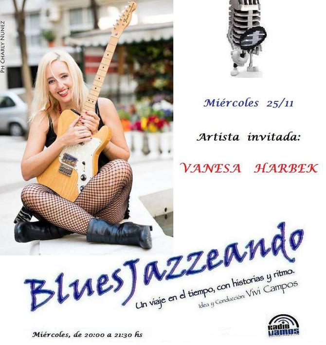 Vanesa Harbek en Bluesjazzeando