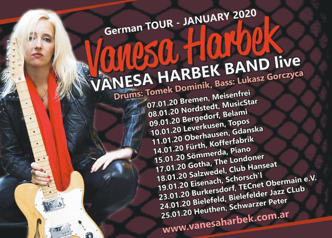 Vanesa Harbek Band - German Tour 2020