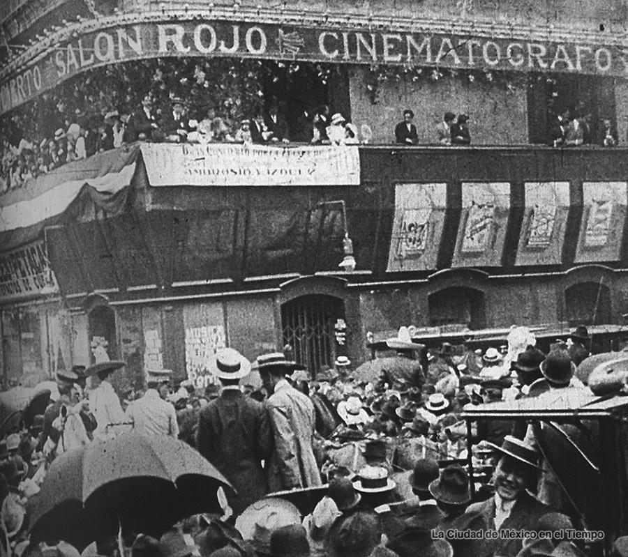 CINEMATÓGRAFO EN LA CIUDAD DE MÉXICO