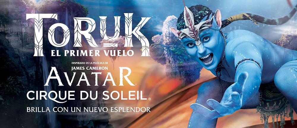 "Cirque du Soleil Toruk ""El Primer Vuelo"""
