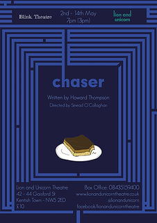 Chaser Poster - Blink Theatre